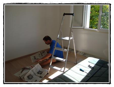 7 octobre 2010 la suite des travaux dans la nouvelle. Black Bedroom Furniture Sets. Home Design Ideas