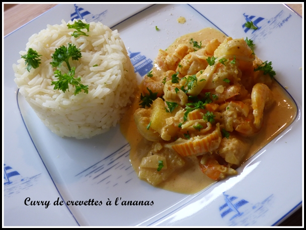 curry de crevettes au lait de coco avec ou sans thermomix la guillaumette. Black Bedroom Furniture Sets. Home Design Ideas