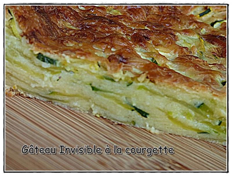Gâteau Invisible à La Courgette Version Avec Et Sans Thermomix La