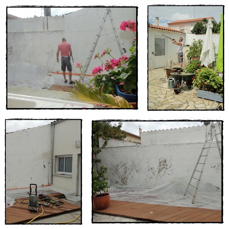 La nouvelle peinture de la maison 28 juillet 2014 la for La maison de la peinture