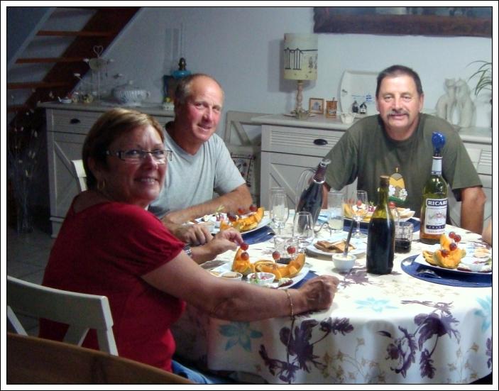 Repas entre amis 29 septembre 2011 la guillaumette for Repas noel entre amis