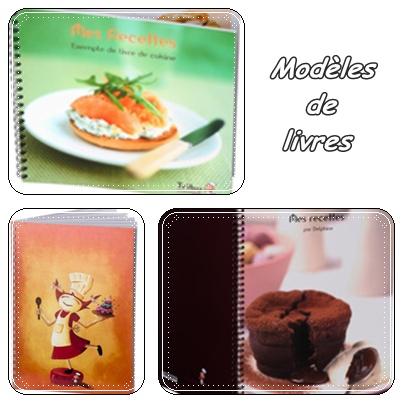 Un livre de recettes personnalis la guillaumette - Livre de cuisine vierge ...