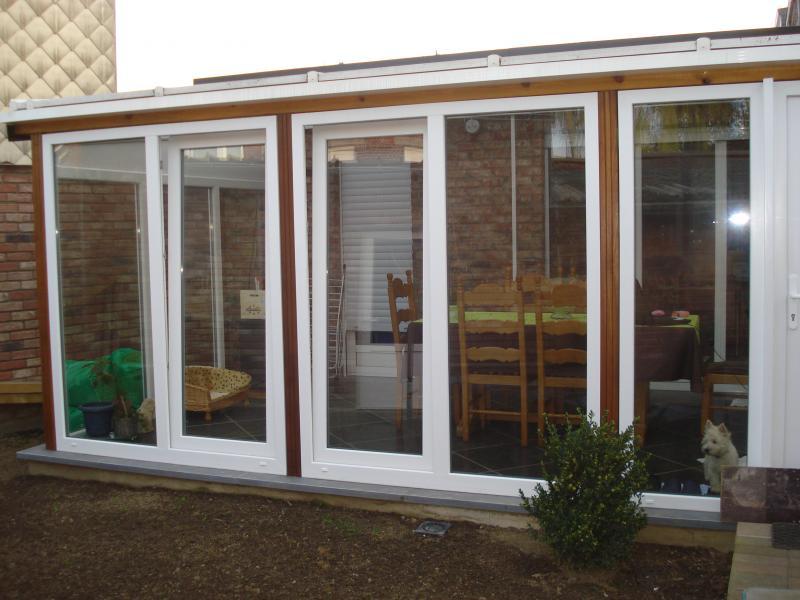 notre veranda et le jardin prennent forme doucement tout simplement nous. Black Bedroom Furniture Sets. Home Design Ideas