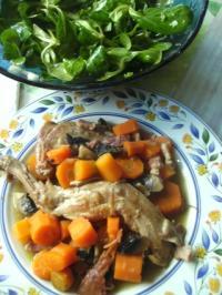 recette lapin aux carottes et aux champignons frais recette lapin aux carottes et aux. Black Bedroom Furniture Sets. Home Design Ideas