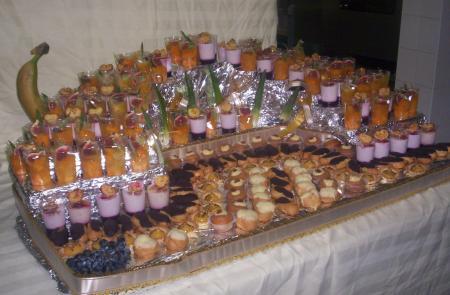 idees buffet verrines