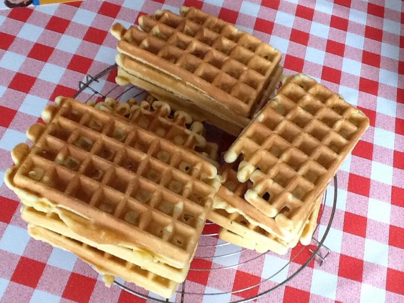 Re ette des gaufres de m nage cuisine simple - Blog recette de cuisine simple ...