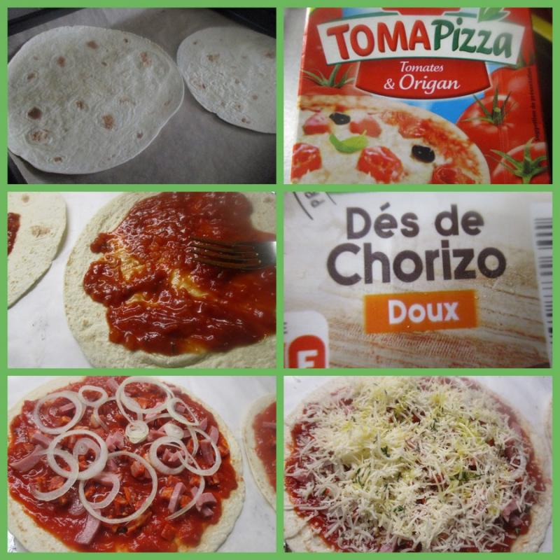 Wrap Facon Pizza Entre Pres Et Champs