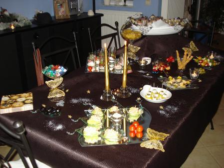 Buffet dinatoire du r veillon nouvel an tout simplement nous - Idee buffet nouvel an ...