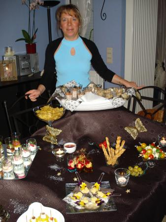 Buffet dinatoire du r veillon nouvel an tout simplement nous for Decoration 31 decembre