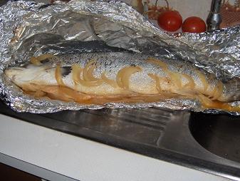Saumon belle vue cuisine familiale - Cuisiner du saumon au four ...