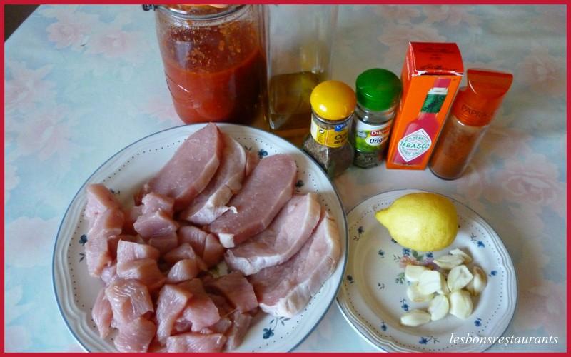 Barbecue et sauce mexicaine maison les bons restaurants - Recette sauce barbecue maison ...