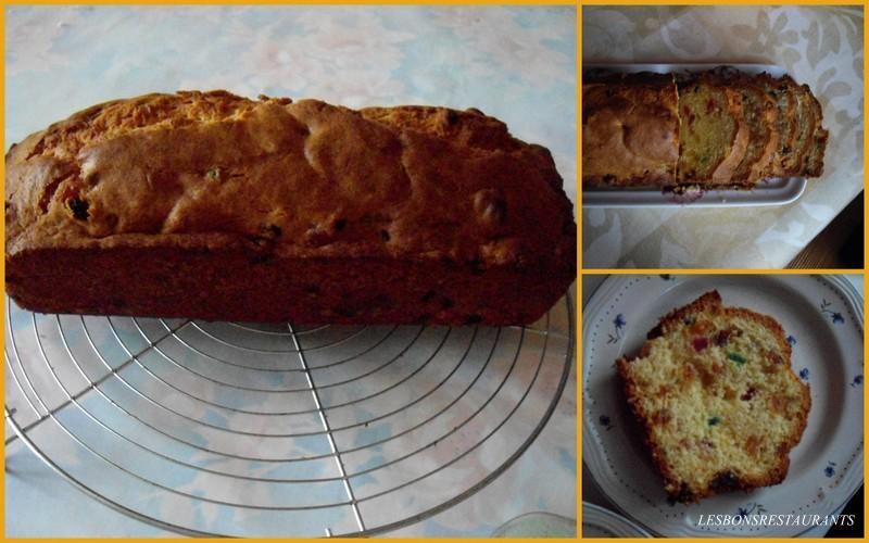 Recette De Cake Aux Fruits Confis