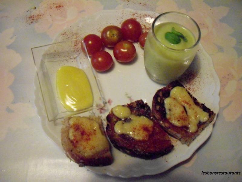 Canap s au fromage les bons restaurants for Canape au fromage