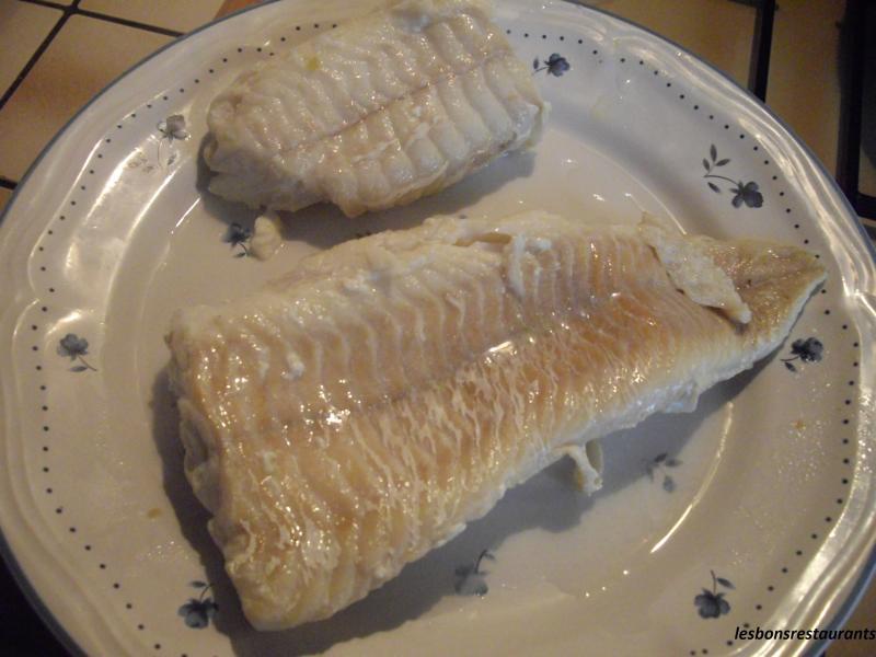 Filet de julienne aux c pres les bons restaurants - Cuisiner filet de julienne ...