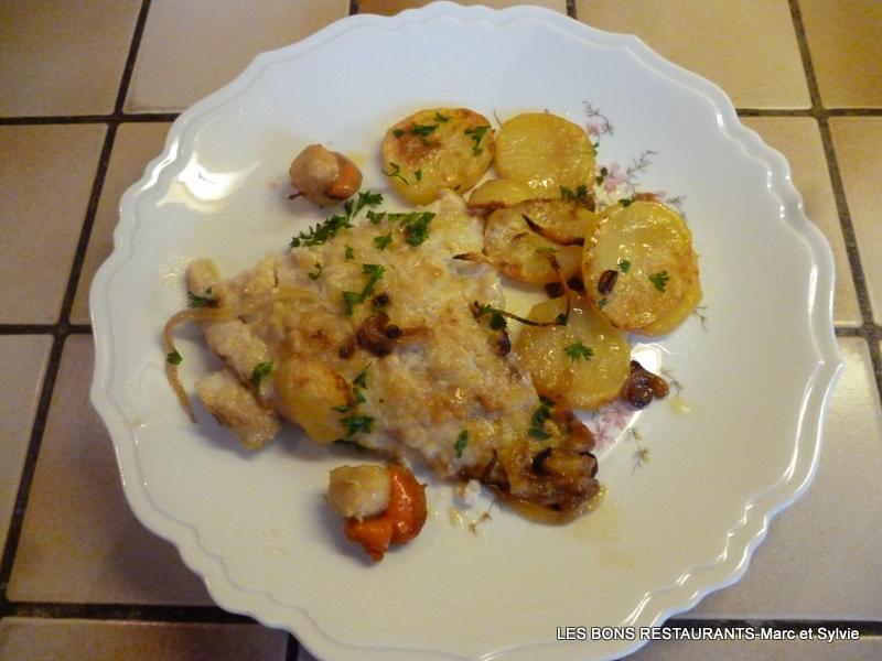 Filet de lieu au four coquilles saint jacques et pommes de terre les bons restaurants - Recette coquille saint jacques au four ...