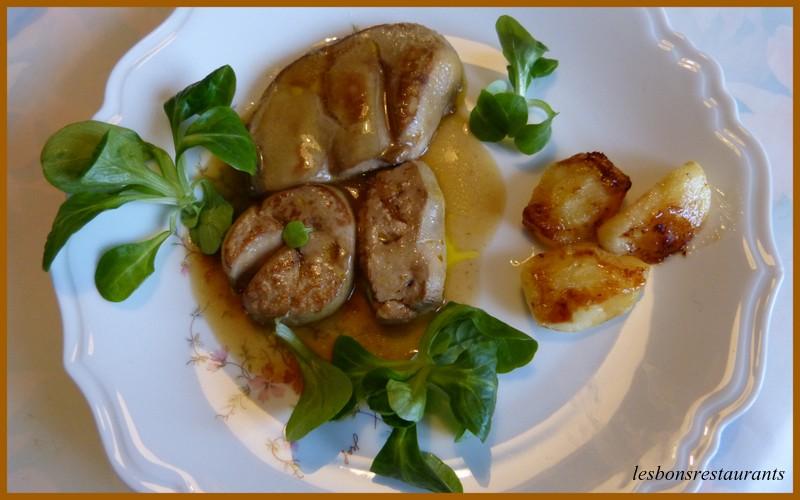 foie gras frais po l aux pommes les bons restaurants. Black Bedroom Furniture Sets. Home Design Ideas