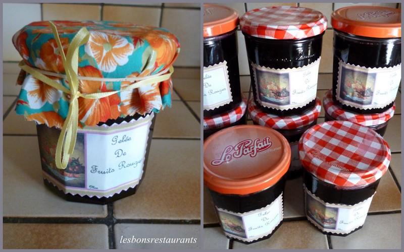 Gel e de fruits rouges les bons restaurants - Gelee de groseille avec extracteur de jus ...