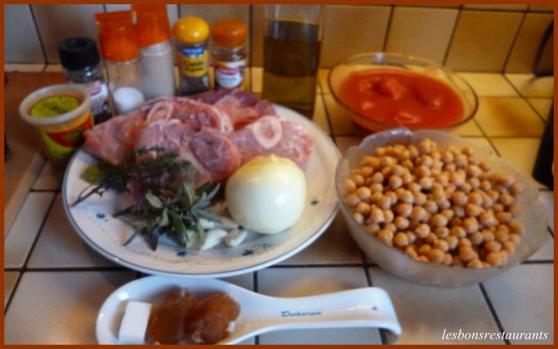 cocido madrileño recette