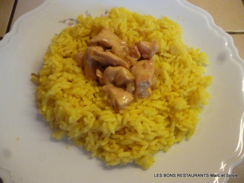 Poulet au curry et riz au lait de coco les bons restaurants - Riz lait de coco ...