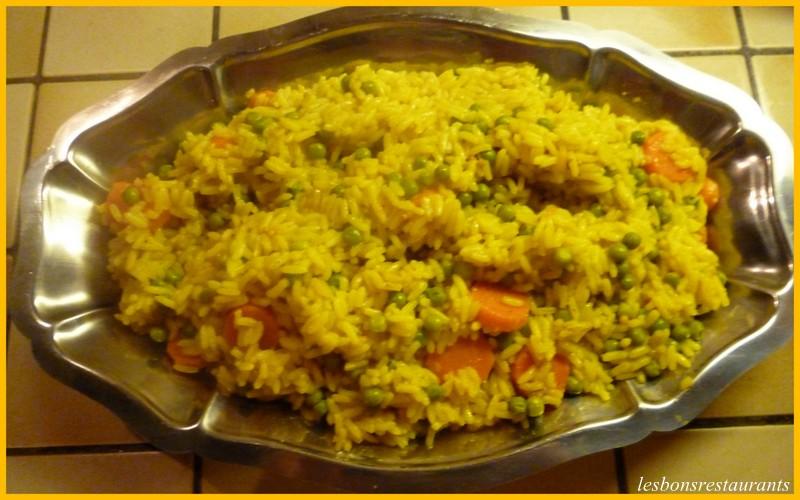 Riz biryani aux l gumes les bons restaurants - Cuisine indienne biryani ...