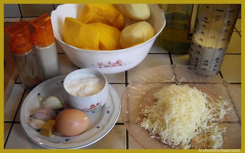Soupe au potiron cr me et fromage les bons restaurants - Soupe potiron cocotte minute ...