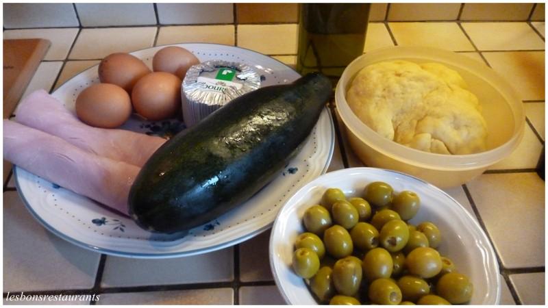 Tarte aux courgettes et au boursin les bons restaurants - Courgette boursin cuisine ...