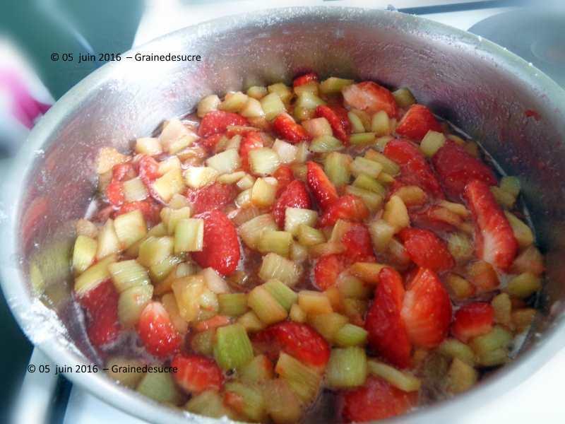 confiture de fraise avec vitpris