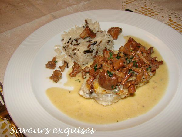Fricassee Of Chanterelles Recipe — Dishmaps