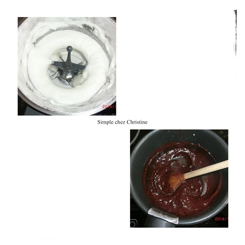 Mousse au chocolat de pierre herm simple chez christine for Mousse au chocolat pierre herme