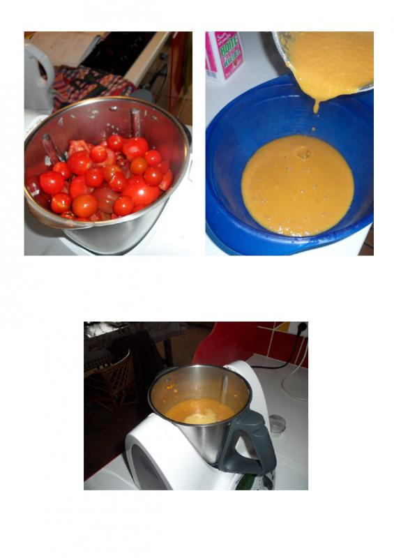 Coulis de tomate avec thermomix chez mamy gigi for A table avec thermomix