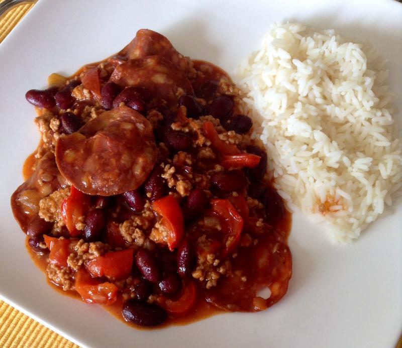 Chili con carne maison gigi - Chili con carne maison ...