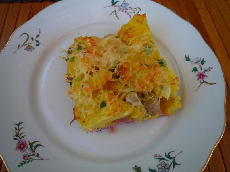 Invisible aux pommes de terre cerise - Accompagnement salade verte ...