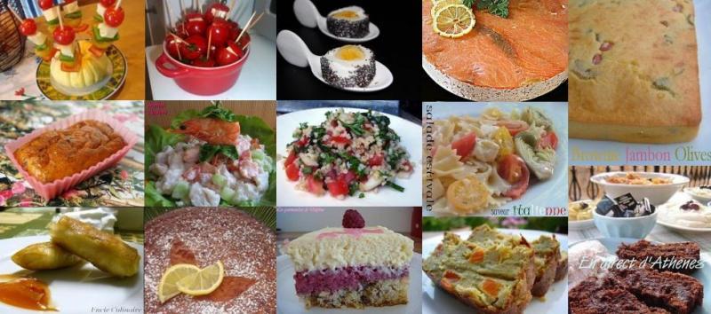 Id e de repas d 39 t 14 recettes id ales pour un buffet for Idee repas avec amis