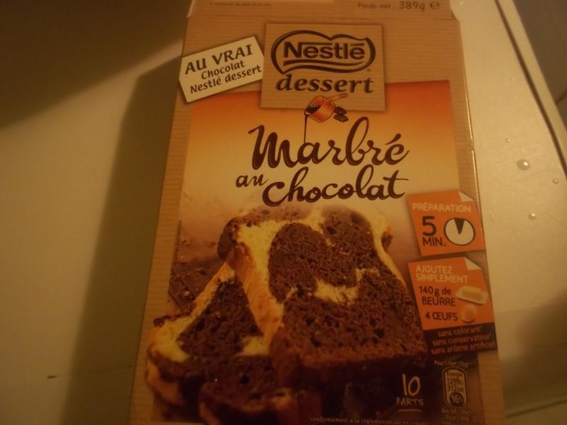 gateau au chocolat nestlé dessert en poudre
