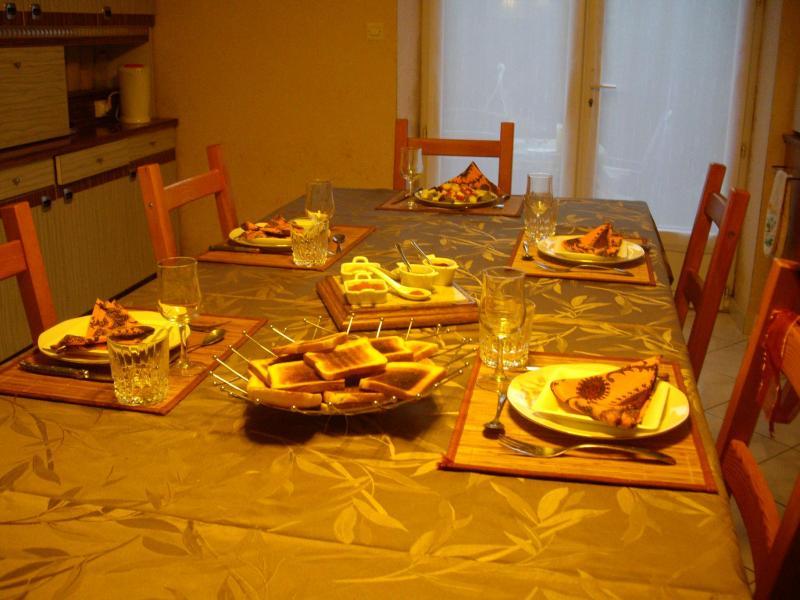 Un petit repas entre amis 33gourmande for Dessert repas entre amis