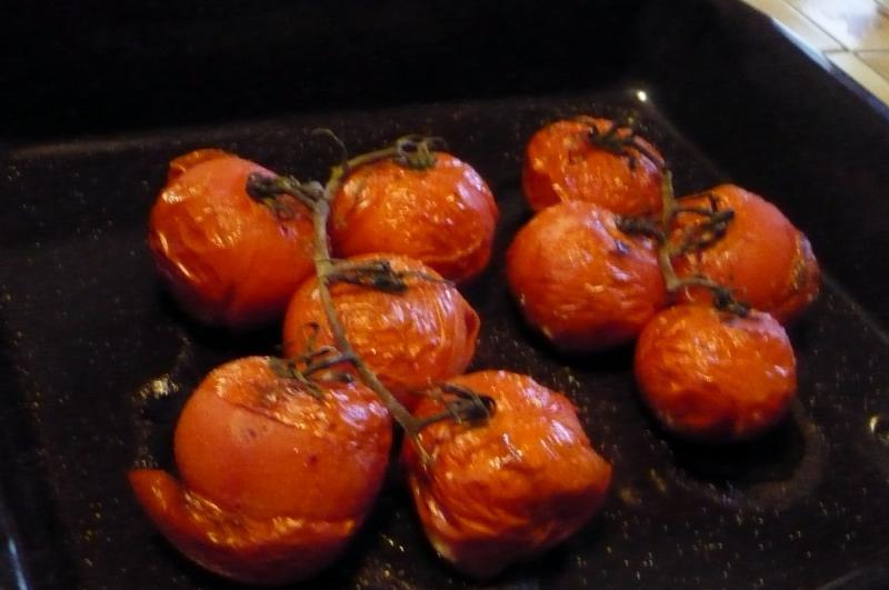 Aiguillettes de filet de boeuf tomates cuites au four le blog de titanique - Cuisson filet de boeuf au four chaleur tournante ...