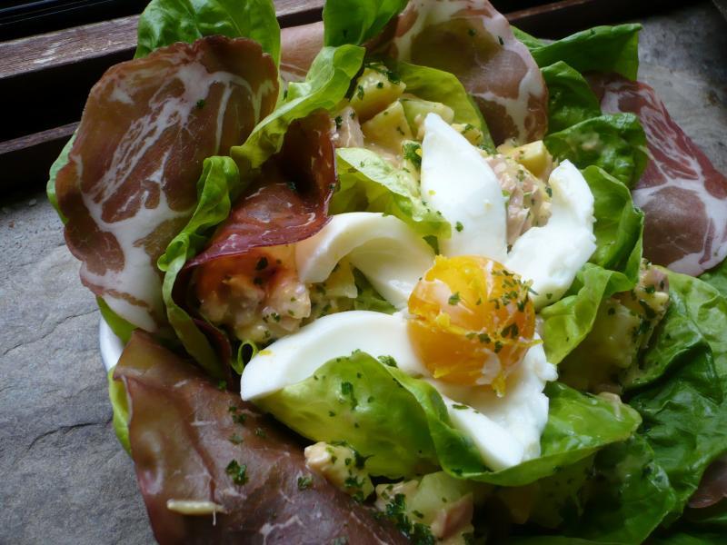 Assiette coeur de laitue ou l 39 art d 39 accommoder des restes le blog de titanique - Faire la mayonnaise ...