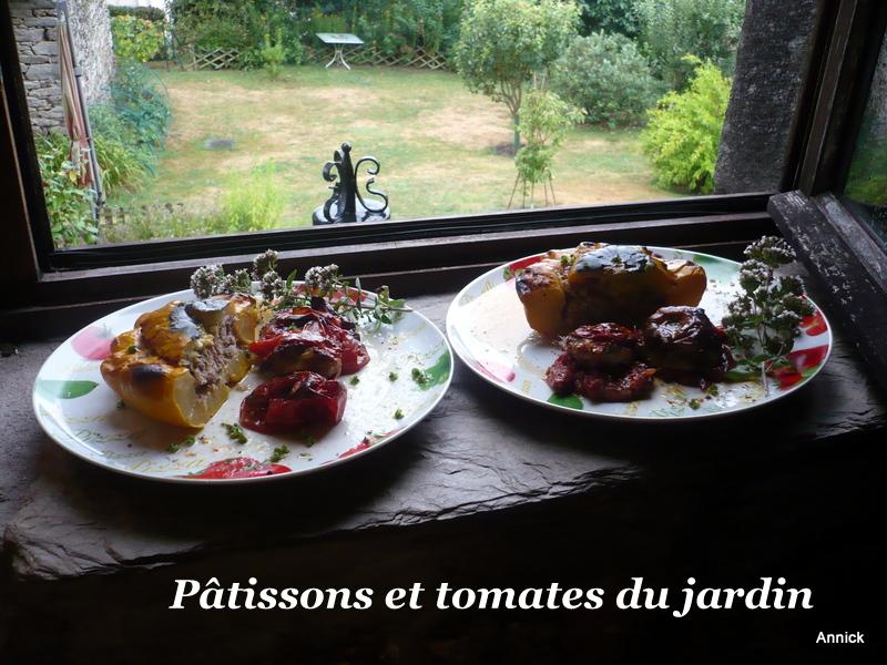 du potager l 39 assiette p tissons et tomates du jardin farci le blog de titanique. Black Bedroom Furniture Sets. Home Design Ideas