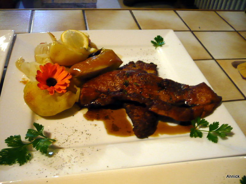 Foie gras de la mer ou foie de lotte et sa po l e de - Cuisiner le foie de lotte ...