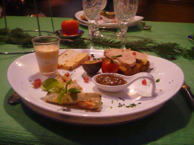 Notre repas de noel 2013 le blog de titanique for Entree repas famille