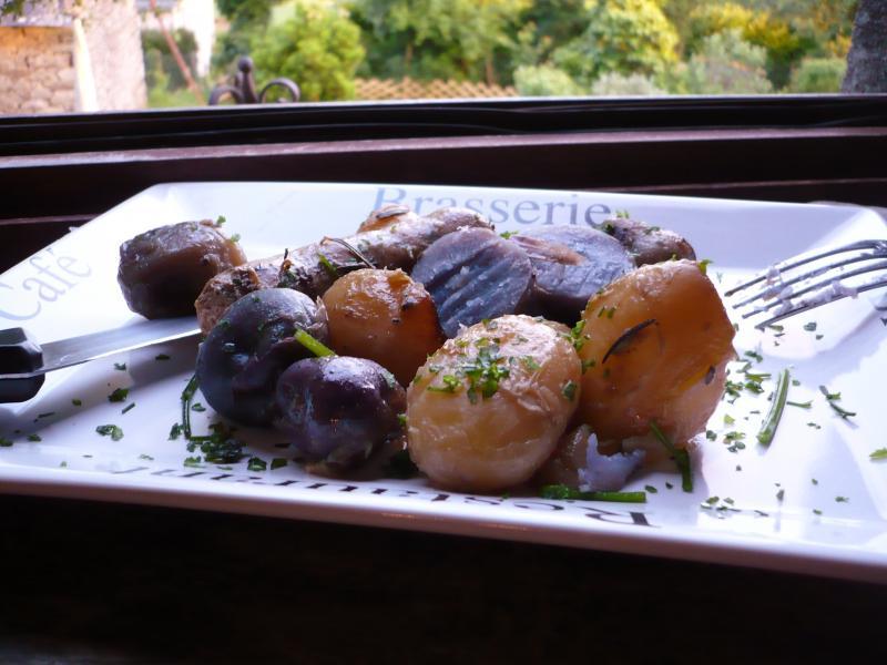 Pomme De Terre Du Jardin Saucisses Maison Le Blog De