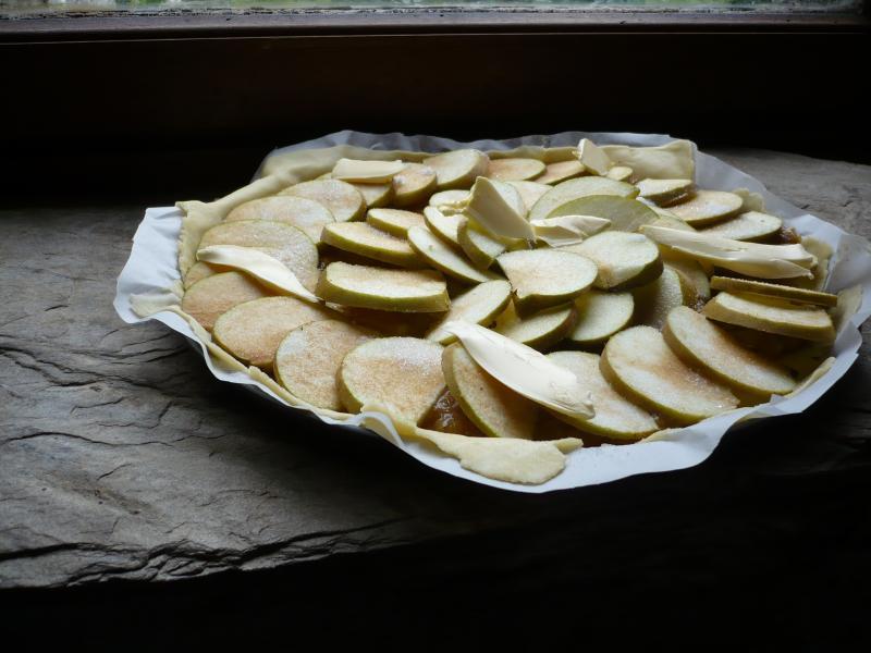 Tarte aux pommes maison le blog de titanique - Tarte aux pommes compote maison ...