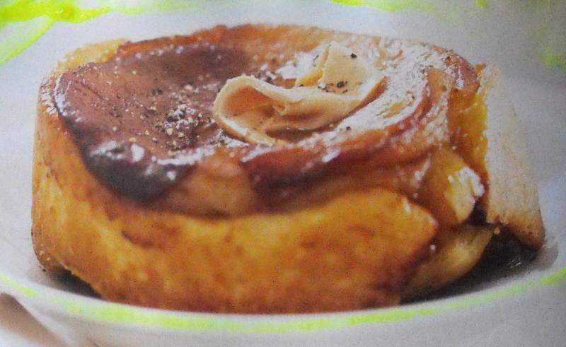 Tatin de foie gras aux pommes saveurs en libert - Preparation du foie gras ...