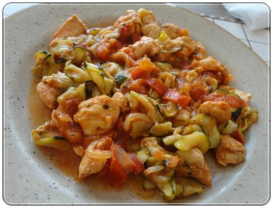 Cake Tomates Cerises Poulet