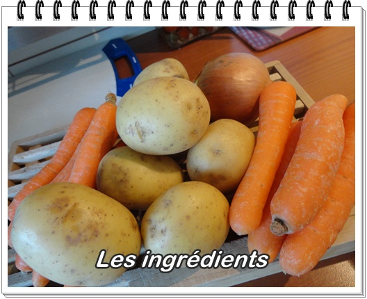 Hachis parmentier aux carottes fa on lisette la guillaumette - Cuisiner des crepinettes ...