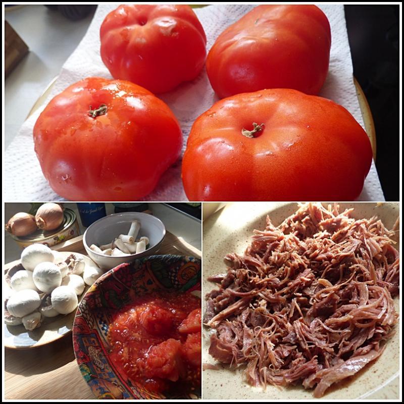 chair pour tomates farcies