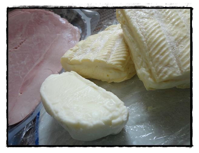 Pommes de terre au four au reblochon et jambon cuit la guillaumette - Pomme de terre au four papier alu ...
