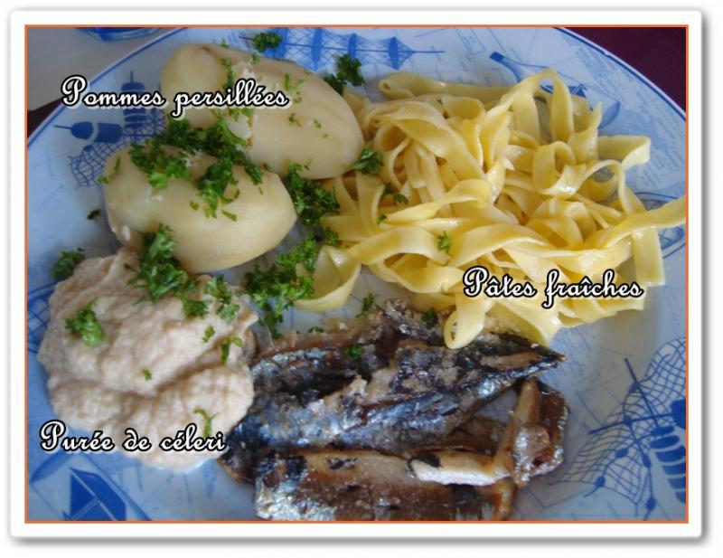 Filets de sardines grill s et leurs accompagnements la - Cuisiner des filets de sardines fraiches ...