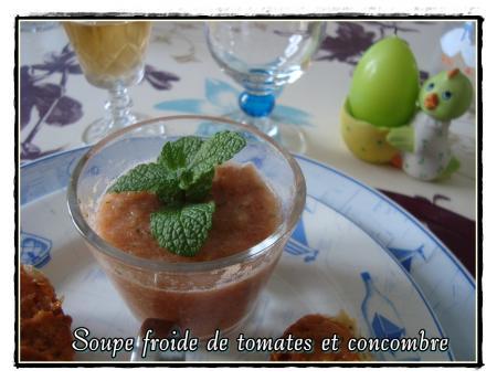 soupe froide de tomates et concombre la guillaumette. Black Bedroom Furniture Sets. Home Design Ideas