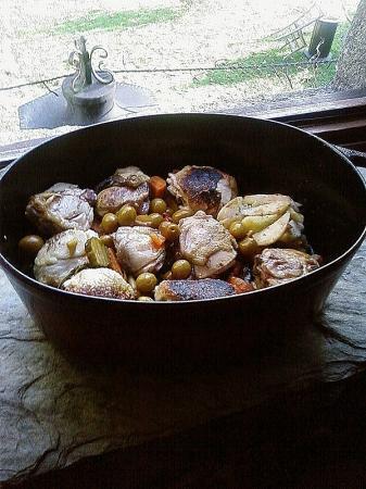 recette tajine de poulet en cocotte en fonte recette tajine de poulet en cocotte en fonte plat. Black Bedroom Furniture Sets. Home Design Ideas